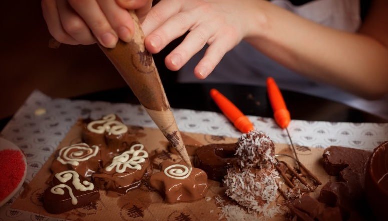 Шоколадный мастер-класс своими руками 543