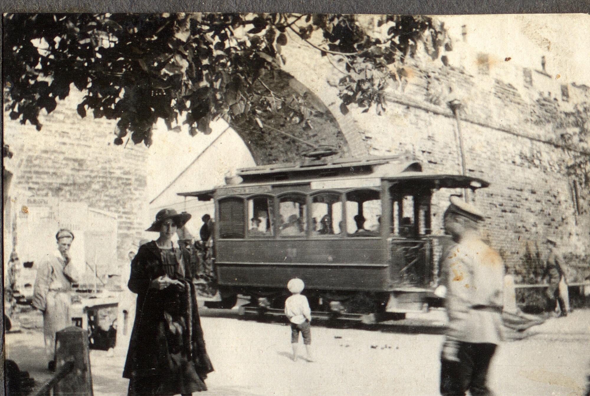 Трамвай в Нижнем Новгороде, 1916.