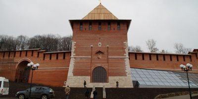 Зачатьевская (Зачатская) башня Нижегородский Кремль