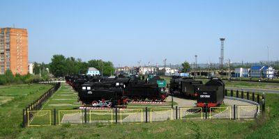 Музей Паровозы России ( Нижегородский железнодорожный музей )