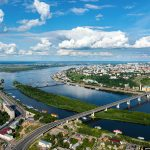 Нижний Новгород с вертолета. Потрясающие фото! Часть 1.