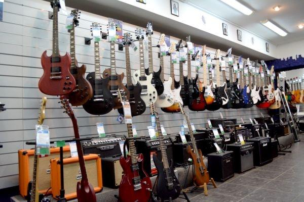 В Узловой – магазин музыкальных инструментов