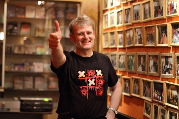 Рок-музыкант Олег «Манагер» Судаков