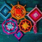 Мастер-класс по плетению индейской мандалы.