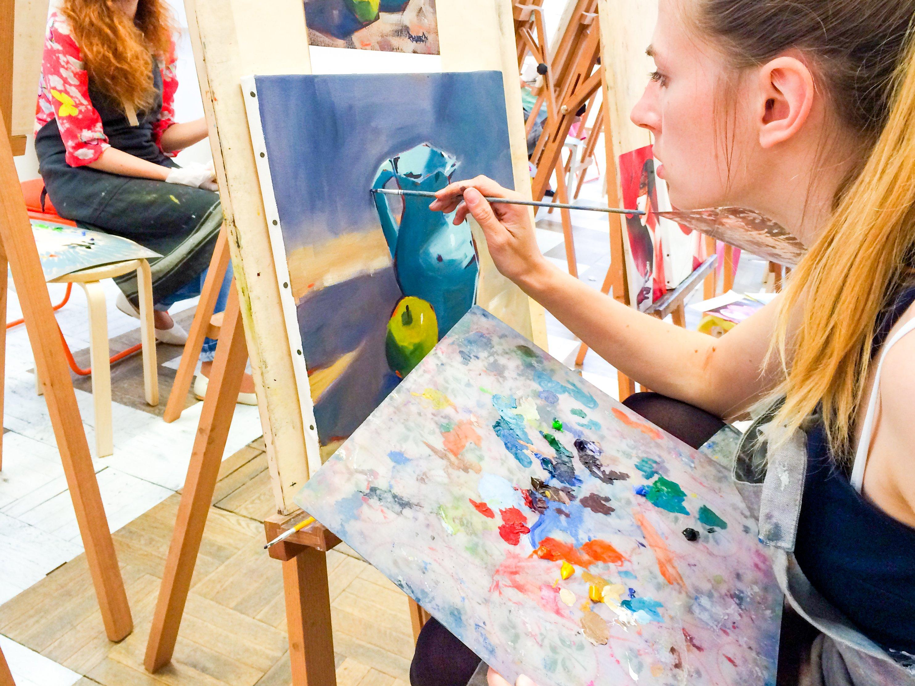 Школа рисования в Циферблате