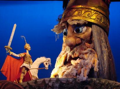 Кукольный спектакль Руслан и Людмила