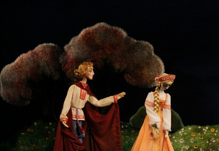 Кукольный спектакль Сказ о граде Лебединце