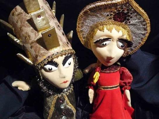Кукольный Спектакль Сказка о мертвой царевне и о семи богатырях