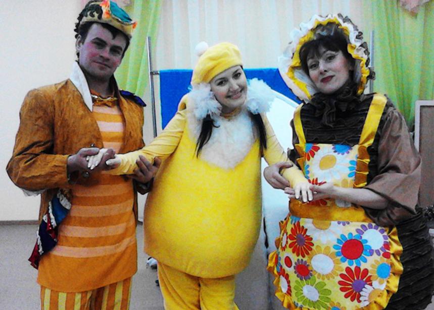 Спектакль Цыпленок Солнышко