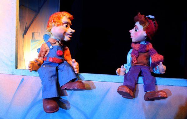 Кукольный спектакль Малыш и Карлсон, который живет на крыше