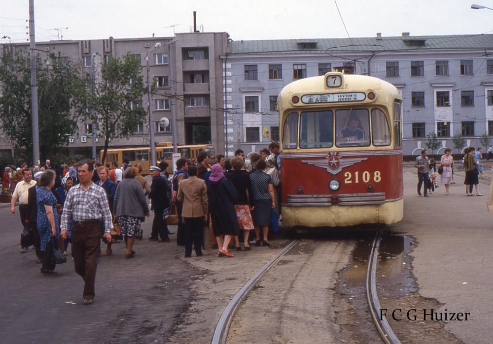 Советские трамваи