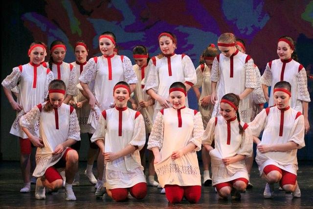 Отчётный концерт ансамбля танца Маленькая страна