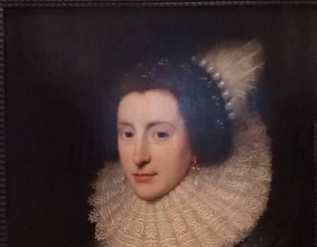 Выставка западноевропейских женских портретов XVII-XVIII в.в.