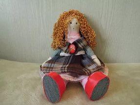 Мастер-класс Кукла Большеножка