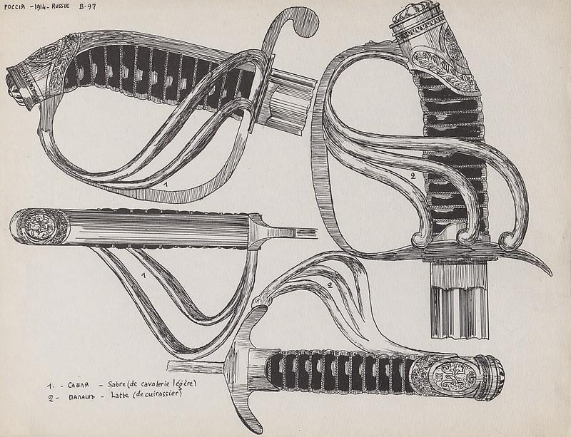 Форма, Русской Армии, 1914 года, каталог