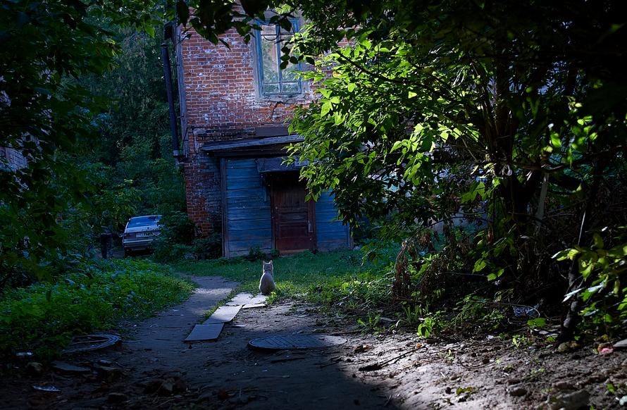 Выставка фотохудожника Л. Гройсмана Потерянный город