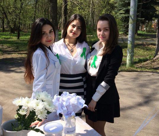 Благотворительная акция Белая орхидея