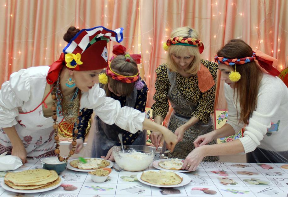 Кулинарный спектакль Масленичный рыжик