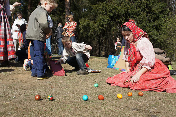 Фольклорный праздник Красная горка