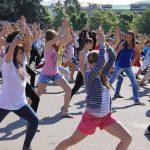 Флешмоб по случаю Всемирного дня здоровья
