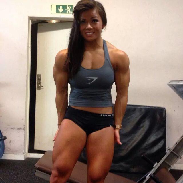 Muscle girl pics