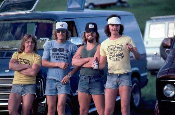 Культурный шок: Парни в шортах 1970-х годов