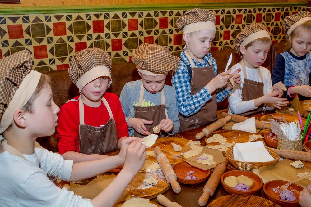 Детская кулинарная школа