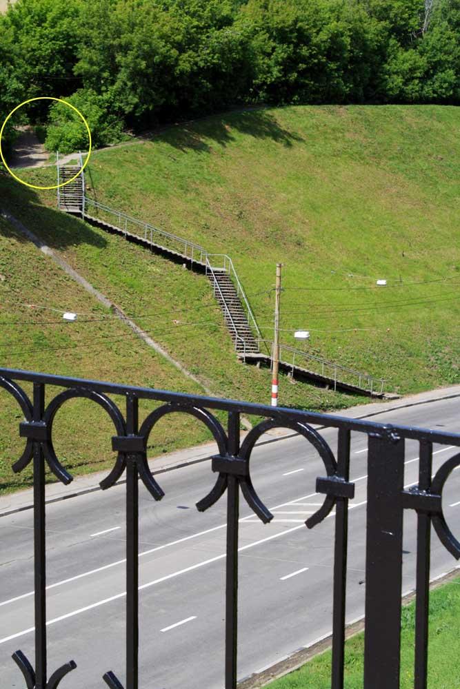 Нижний Новгород в лестницах и ступенях.30 фото