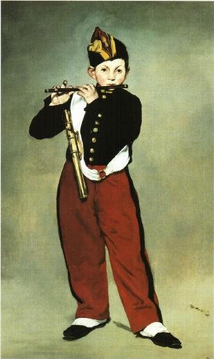 """Эдуар Мане """"Маленький флейтист"""""""