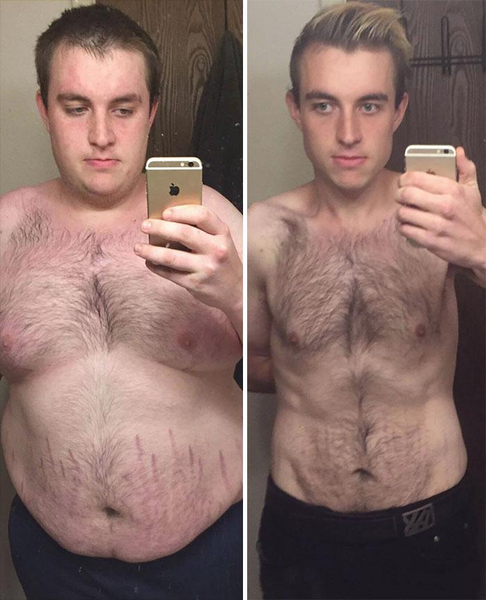 Мужики похудели фото до и после