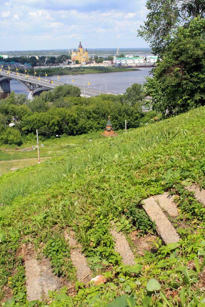 Нижний Новгород в лестницах и ступенях. 30 фото