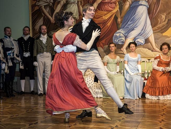Мастер класс по танцам XIX века