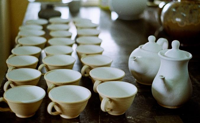 Выставка керамики Мартина Жебеля