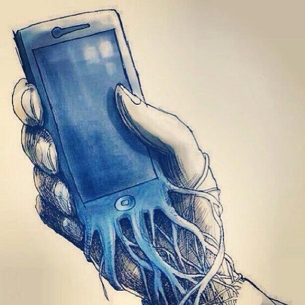 о зависимости людей от смартфонов