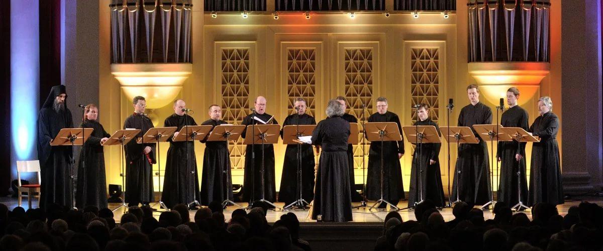 Концерт Хор Монахов Resonance Group Исполняет Рок