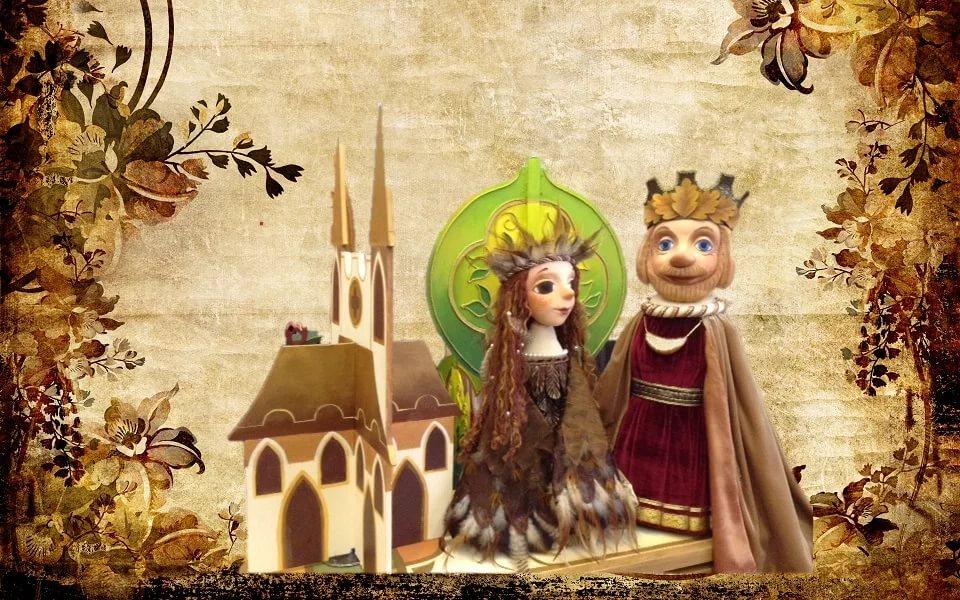 Кукольный спектакль Крапинка