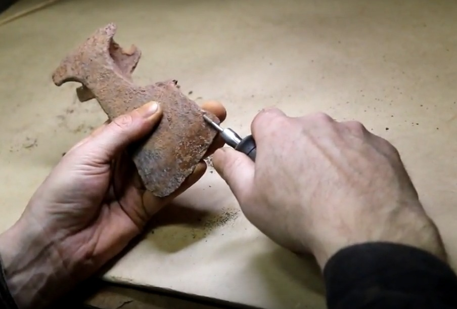 Открытие виртуальной выставки Дневник археолога