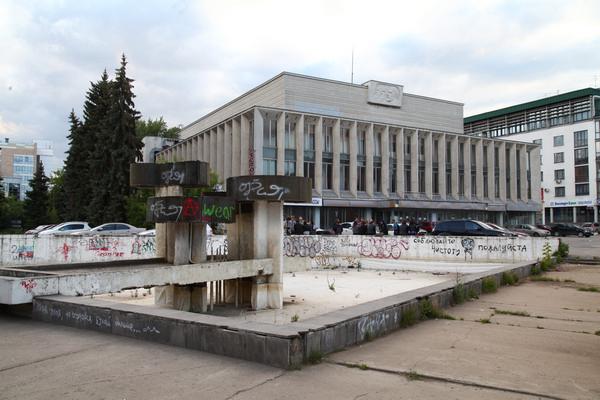 Фонтан у Юпитера (Октябрьская площадь) Нижний Новгород