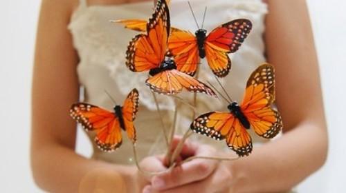 Мастер-класс Порхающие бабочки