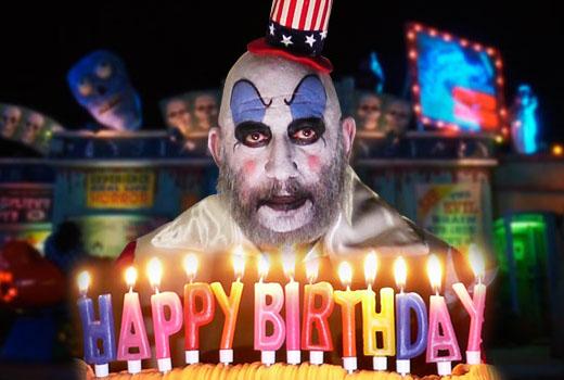 Днем, день рождения страшные открытки