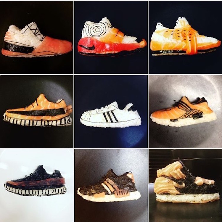 Chef Who Makes Edible Piece of Art: Sushi Shoes