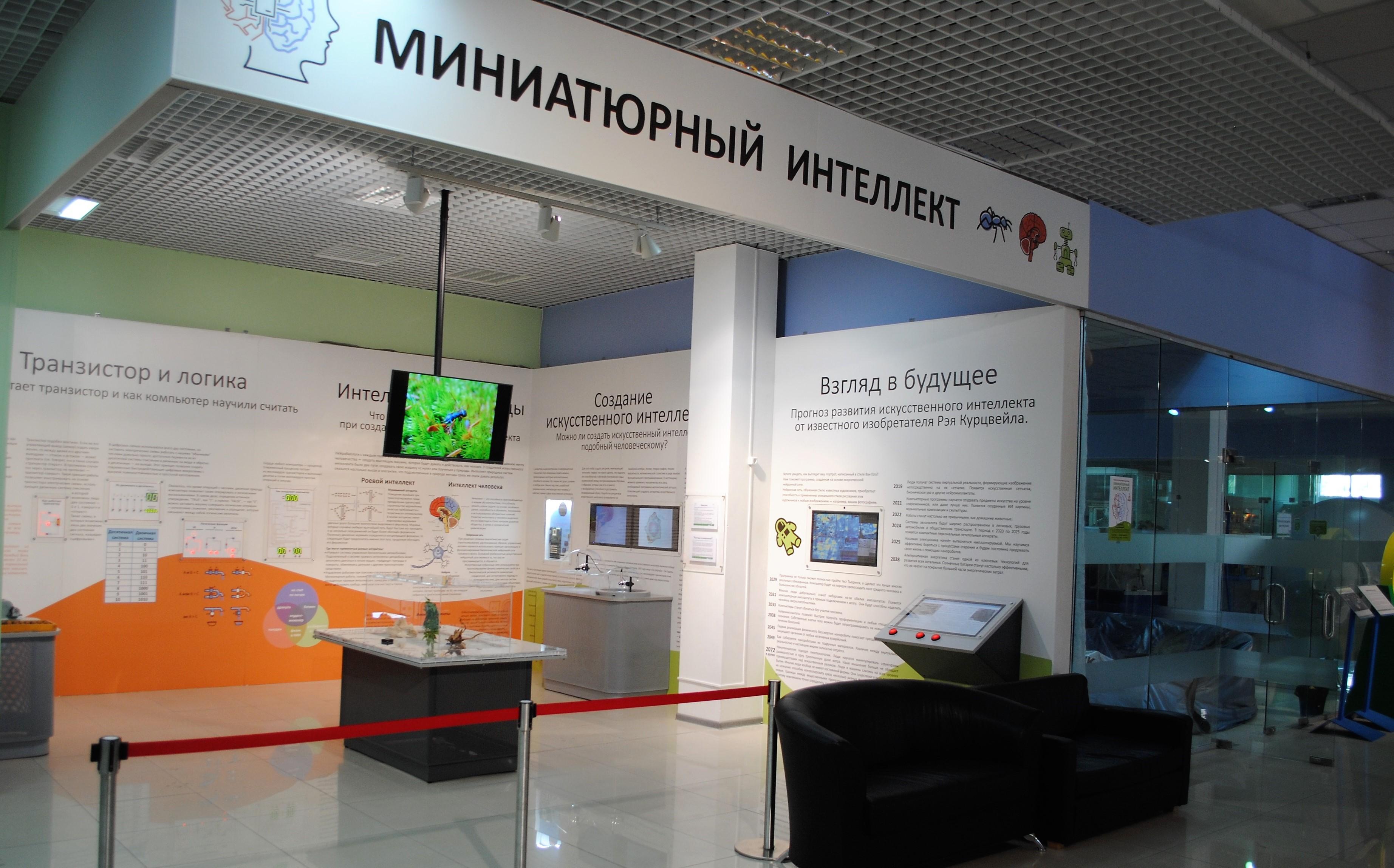 Выставка «Миниатюрный интеллект»