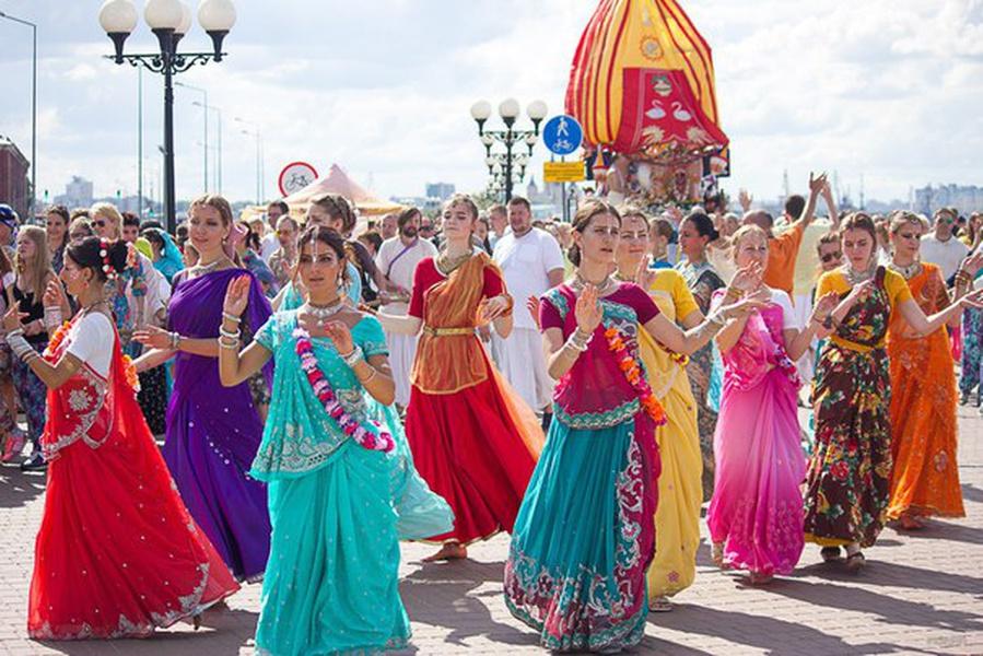 Фестиваль индийской культуры «Ратха-ятра»