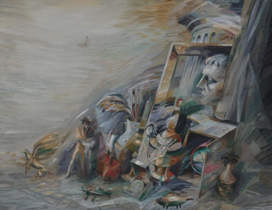 Персональная Выставка В.Логинов «Жизнь-дороги»