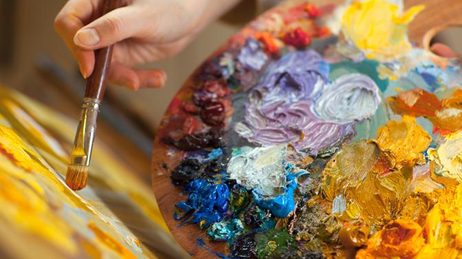 Художественная школа «Вдохновение». Рисуем картину, которую Вы принесете