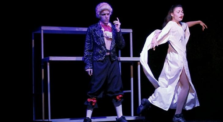 Пластический спектакль Моцарт и Сальери
