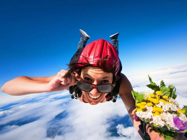 День парашютиста в Рекорде