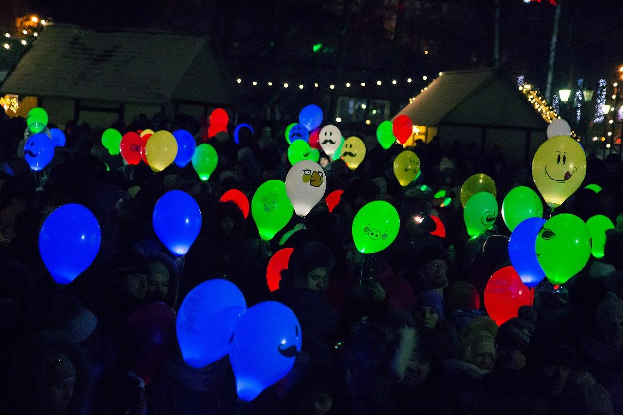 Большой Фестиваль Светошариков
