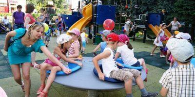 Детская площадка на ул.Б.Покровская