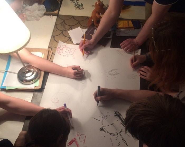 Sketch or die в Циферблате